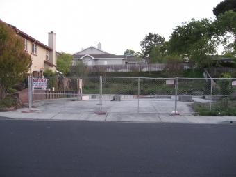 Burned-out Angela Street house finally demolished 16 months after