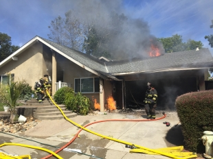 Fire causes extensive damage to Pleasanton house | News