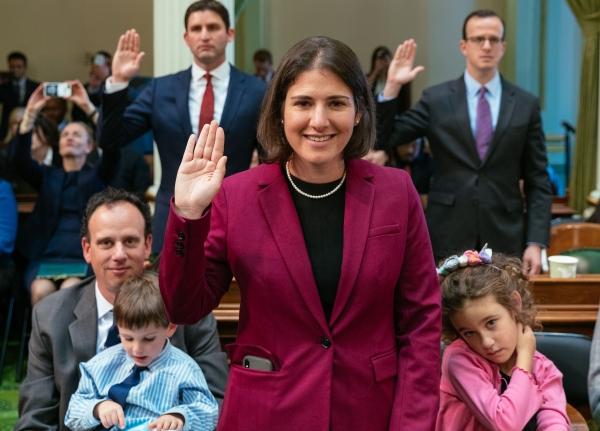 Bauer-Kahan takes oath of office | News | PleasantonWeekly.com |