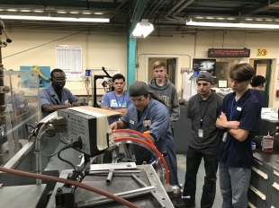 Livermore Lab welcomes Tri-Valley students to the machine