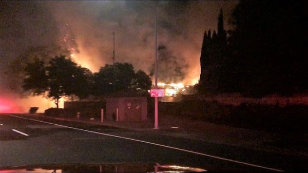 Photo 2 of 2 View all Pleasanton: Chabad Center damaged in