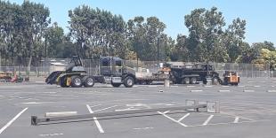 Crews start construction on Amador Valley High parking lot